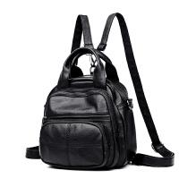 中年妈妈包背包小包包百搭女士单肩斜挎包三用多功能双肩包软皮潮