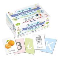 法语原版 我的蒙特梭利 法语学习套盒 Mon grand coffret Montessori lettres rug