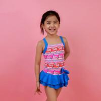 儿童泳衣女宝宝温泉游泳衣 中大童泳装 支持礼品卡支付
