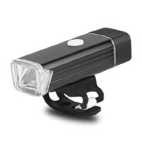 夜骑自行车灯山地车前灯强光防水USB充电手电筒骑行装备单车配件