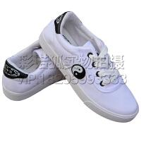 蔓睫 春夏新款全棉帆布鞋太极鞋健步鞋运动鞋黑白男女款