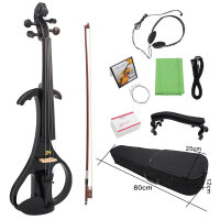 小提琴学生初学 成人女男通用款 专业演奏电子电声小提琴 带琴盒