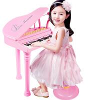 仿真多功能儿童益智早教电子琴带麦克风 女孩音乐钢琴玩具
