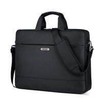电脑包笔记本包手提型男包笔记本电脑包手提商务华硕惠普戴尔苹果14寸15.6寸17.3寸 黑色