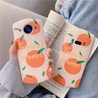 ins小清新韩风橘子V6美图T9手机壳版M8S全包T8S软套m6s女款T8 iPhone6/6S ins橘子