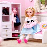 梦幻房间换装娃娃套装礼盒洋娃娃过家家女孩玩具生日礼物