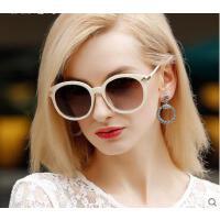 简约大方精致百搭防紫外线眼镜复古墨镜司机镜圆型大框女士偏光太阳眼镜