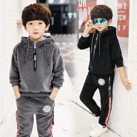男童秋冬装运动套装小学生男孩