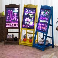 led电子荧光板广告板发光小黑板广告牌展示牌银萤闪光屏手写字板