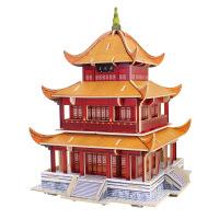 世界著名建筑 3d立体 拼图拼板 木质建筑模型 天安门 天坛 凯旋门 太和殿 布达拉宫