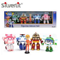 Silverlit 银辉 POLI珀利系列 救援家族玩偶 Q版手办儿童玩具