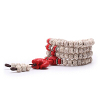菩提手串时尚民族风108颗手链男女款高密度正月佛珠项链