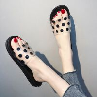 个性拖鞋女夏室外防滑洗澡韩国时尚简约塑料软底家居家用浴室凉拖