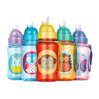 美国直邮 Skip Hop 宝宝吸管杯儿童防漏水杯 350ml 海外购