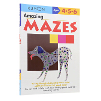 Kumon Basic Skills My Books of Amazing Mazes 公文式教育 儿童英语启蒙教辅