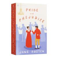 傲慢与偏见英文版原版小说 Pride and Prejudice 简奥斯汀 英国文学经典名著 正版英语进口书 可搭理智