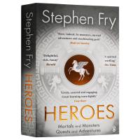 Heroes 英雄 英文原版 斯蒂芬弗雷新作 凡人与怪物 任务与冒险 英文版原版书籍 Stephen Fry 正版进口英