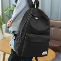 韩版简约双肩包男女中学生书包学院风大容量旅行背包电脑包休闲包