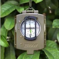 户外登山野营方向指北针不锈钢指南针大号便携装备 防水导航罗盘夜视指南针