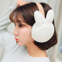 耳罩女冬季加�q保暖�n版耳套可�劭ㄍ�W生耳包耳套可折�B毛�q耳捂