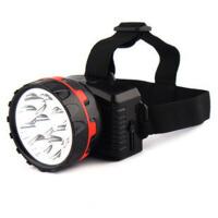 LED头灯户外头灯强光充电防水远射应急钓鱼灯矿灯 狩猎灯