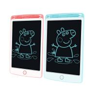 儿童液晶手写板画板 一键擦除宝宝涂鸦板绘画写字板8.5寸电子光能小黑板非磁性画板玩具