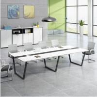 美立居工坊会议桌培训桌MLJ-HZ27洽谈桌2.8米