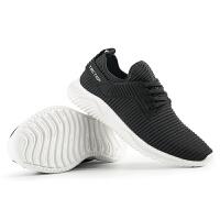 TECTOP 探拓情侣款布面运动鞋男女款休闲鞋清爽透气户外运动布面系带鞋子