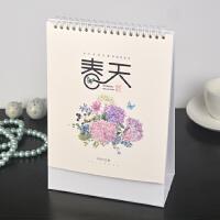 2019年迷你坚式台历定制韩版多功能日历月历桌面台历专版定做