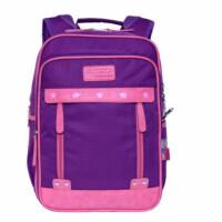 新仕高学生书包 0012/0016紫粉色女孩背包 休闲双肩包 韩版旅行包