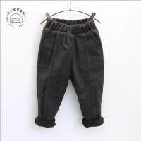 童装冬装男女童儿童装运动休闲裤