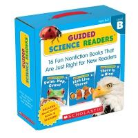 英文原版 Guided Science Readers Level B 16册附CD 科学指导型阅读等级B 儿童科学指