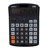 晨光ADG98734计算器 税率桌面型计算机 太阳能双电源 12位 单个装