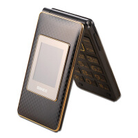 【礼品卡】 百合 C60 2.8寸双屏电信天翼翻盖老人机大字大声男女CDMA老年手机