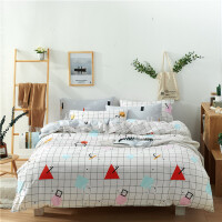 全棉印花四件套 纯棉三件套床品套件床上用品