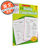 Scholastic Success With Reading Comprehension, Grade 3 英文原版