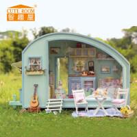 智趣屋diy小屋时光之旅 手工拼装玩具建筑模型别墅送女孩生日礼物