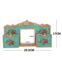 欧式奢华创意开关贴墙贴美式家居装饰品树脂手机架墙壁插座装饰贴