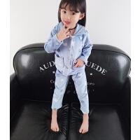 宝宝睡衣家居服套装女童秋衣秋裤儿童睡衣两件套