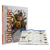 【首页抢券300-100】DK Knowledge Encyclopedia DinoSaur 恐龙百科科普知识全书 儿