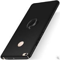 小米max2手机壳自带支架 小米max2保护壳 手机套 外壳 全包硬壳+指环支架JG