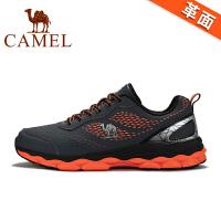 骆驼牌秋新品运动鞋 男情侣款男女超轻跑步鞋减震轻便跑鞋