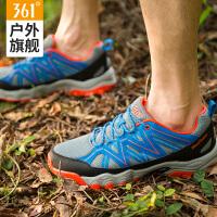 361度男鞋男士休闲鞋2017春季增高韩版跑步鞋潮流透气大码运动鞋