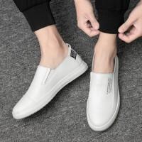夏季新款头层牛皮板鞋低帮男鞋休闲鞋运动鞋