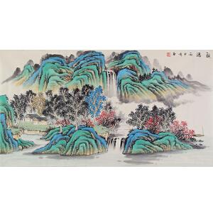 康海江(观瀑)河南省美协会员