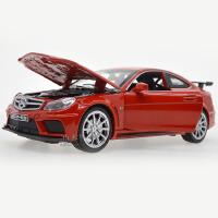嘉业 仿真大奔C63 AMG合金车 儿童声光回力玩具汽车模型
