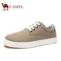 骆驼 新品男鞋舒适时尚百搭帆布鞋男士日常休闲鞋