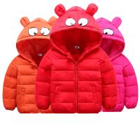 儿童羽绒服短款男童女童衣服冬季童装
