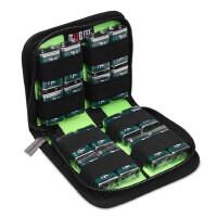 电池收纳盒9V 5号7号电池包 充电器收纳盒 多功能电池包