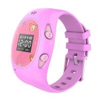 ICOU艾蔻I2-豪华版 儿童电话手表 智能定位手表 电话 可拆卸表带 智能电话学生小孩GPS追踪跟踪智能穿戴手环新增wifi定位更精确 三代儿童定位